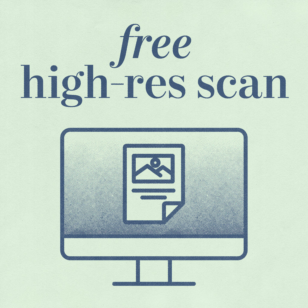 Free high-res scan offer with print deal