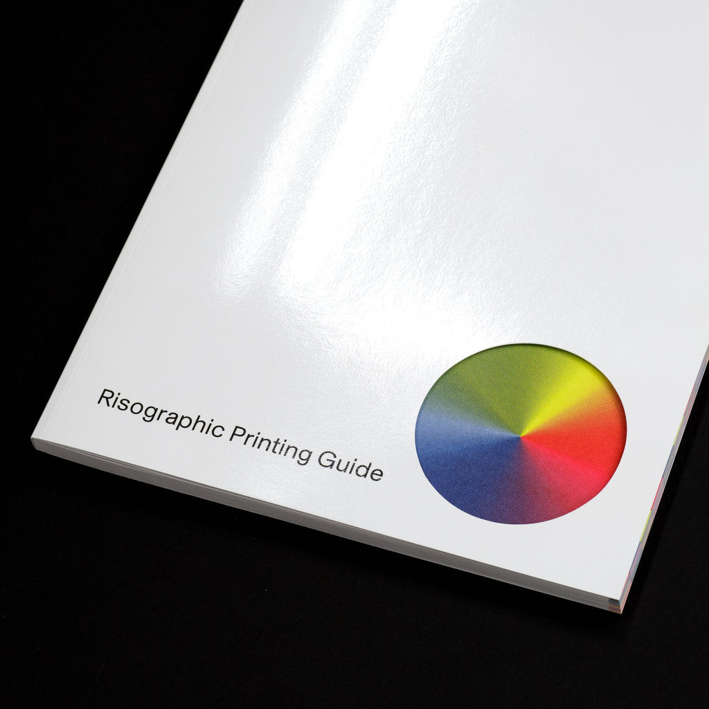 Color Library: Risographic Printing Guide Book Cover Detail
