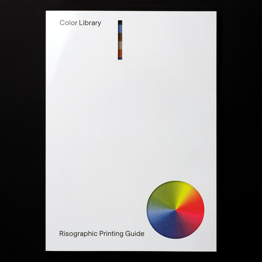 Color Library: Risographic Printing Guide Book Cover