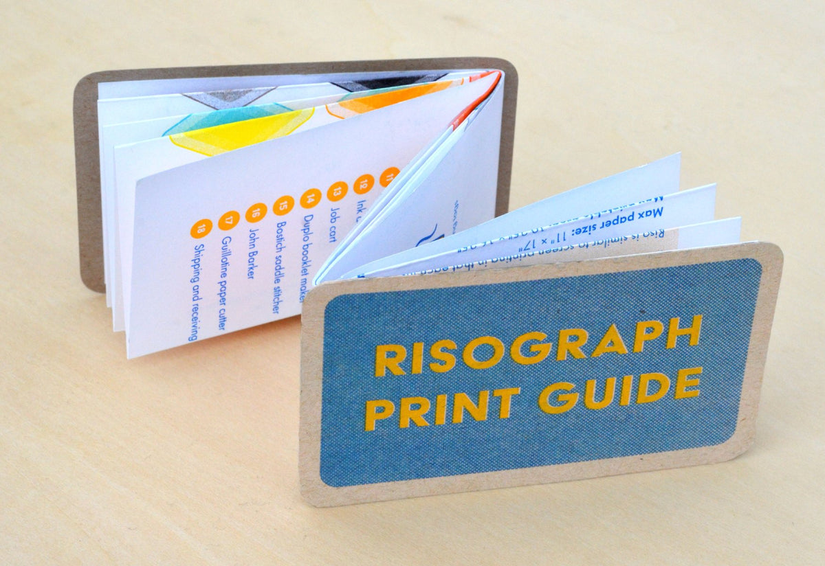 Riso print guide another view