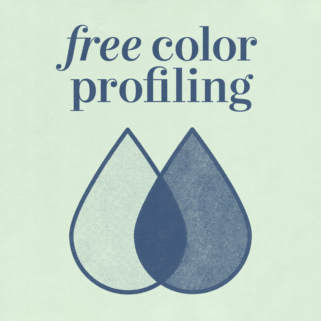 Free color profiling offer with print deal