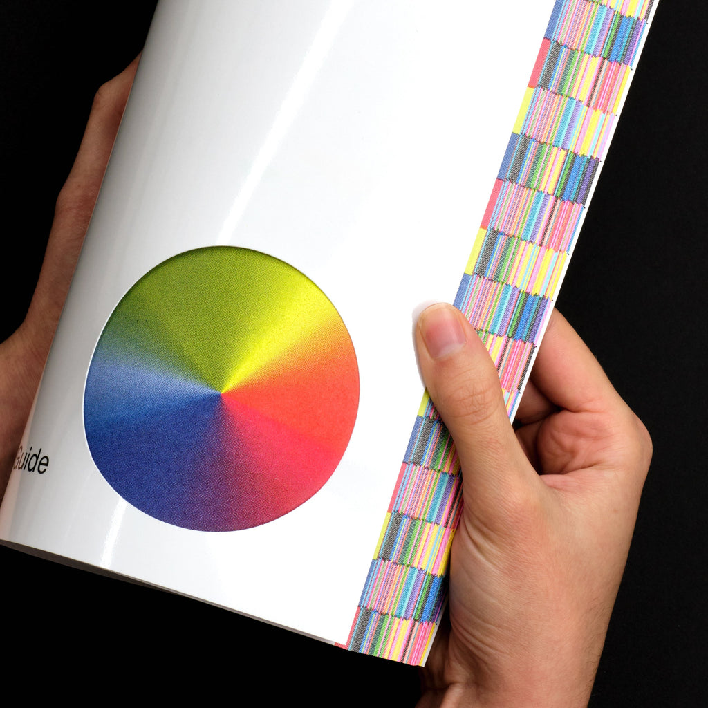 Color Library: Risographic Printing Guide Book Cover Gradient Detail