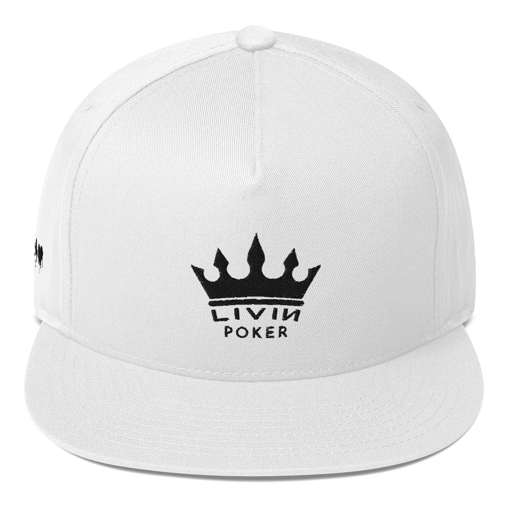 LIVIN POKER CROWN SNAPBACK