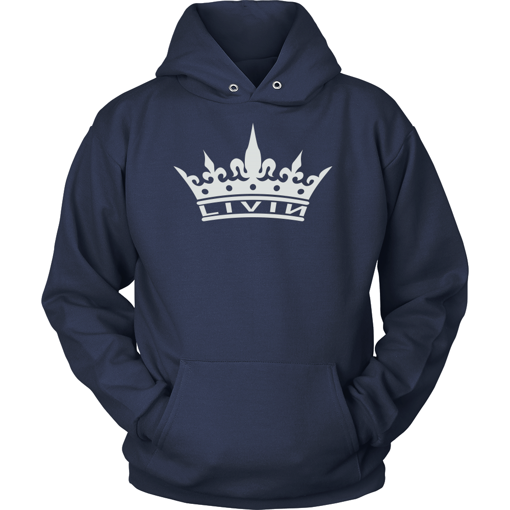 Royal Crown Livin Hoodie (Dark)