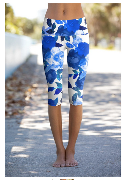 Blue Blood Yoga Leggings