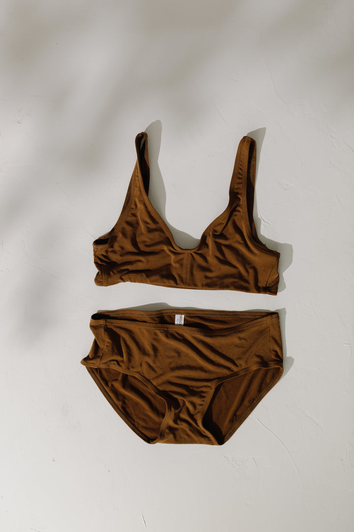 PROCLAIM SUSTAINABLY, ETHICALLY MADE BRAS AND UNDERWEAR IN INCLUSIVE NUDE COLORS SIZES S - 3X,