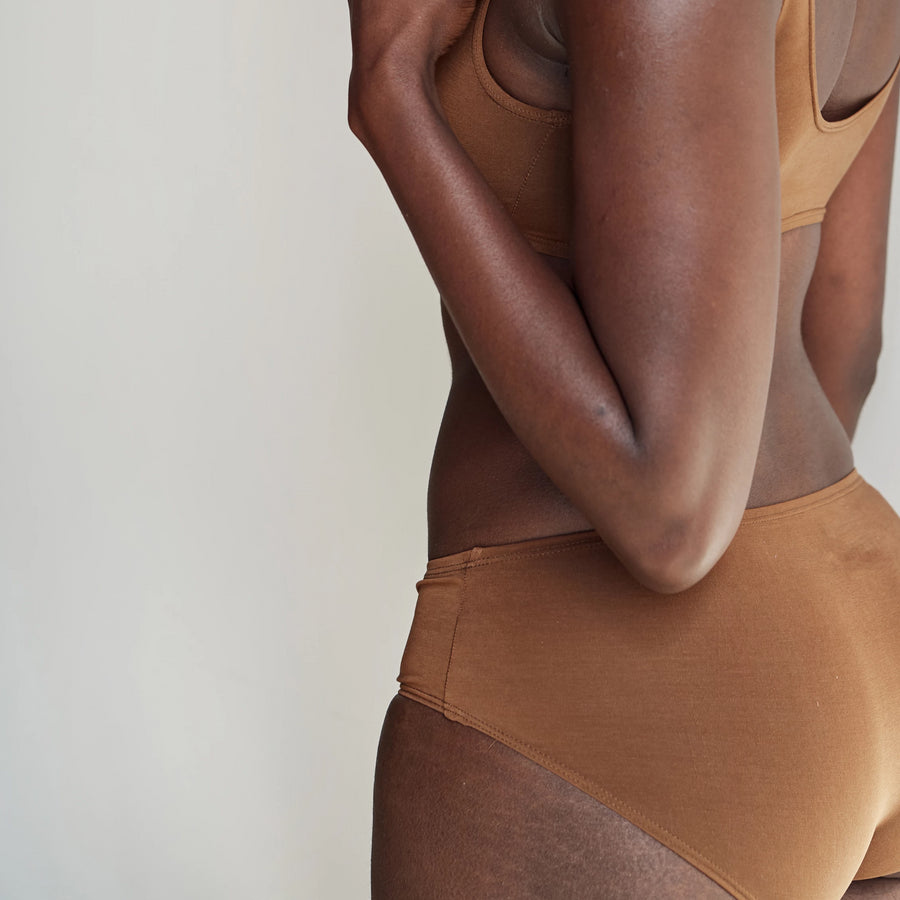 ella nude proclaim ethical sustainable underwear fashion nude tencel made in los angeles