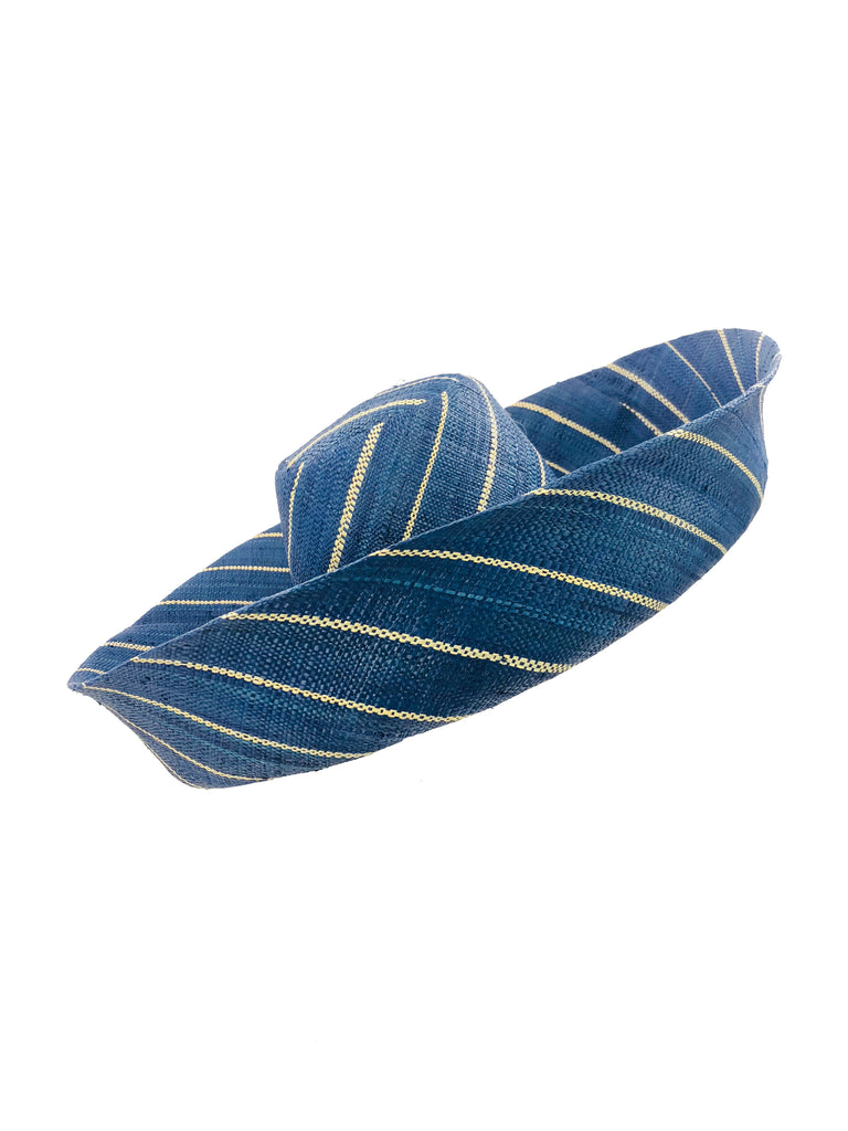 Blue Pin Stripes