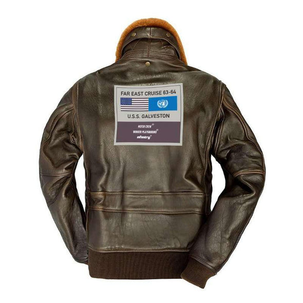 INFANTRY X WORKERPLAYGROUND G1 GENUINE LEATHER JACKET (LJ-001)