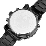 INFANTRY BLACK D DARK KNIGHT with STAINLESS STEEL BRACELET (FS-007-B-D-S)