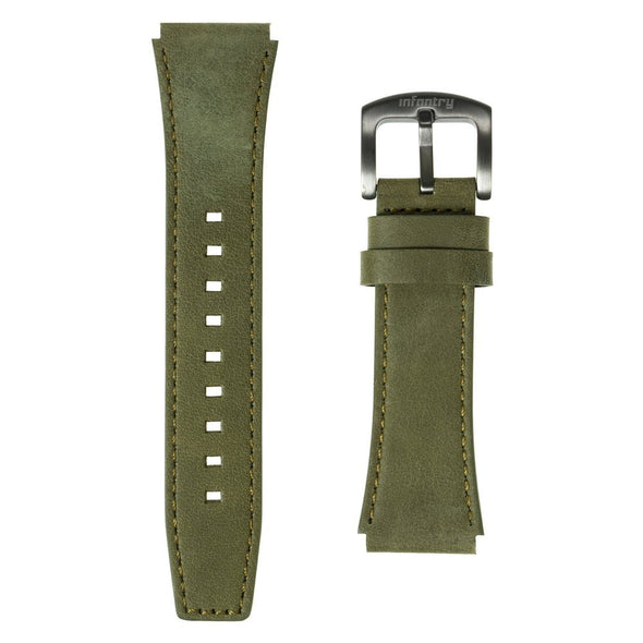 INFANTRY MODULAR SERIES WATCH STRAP GENUINE LEATHER (D09)