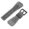 INFANTRY REVOLUTION GREY 24MM GENUINE LEATHER STRAP  (WS-L-GRY-SET)