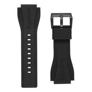 INFANTRY REVOLUTION BLACK 24MM SILICONE STRAP  (WS-R-BLK-SET)