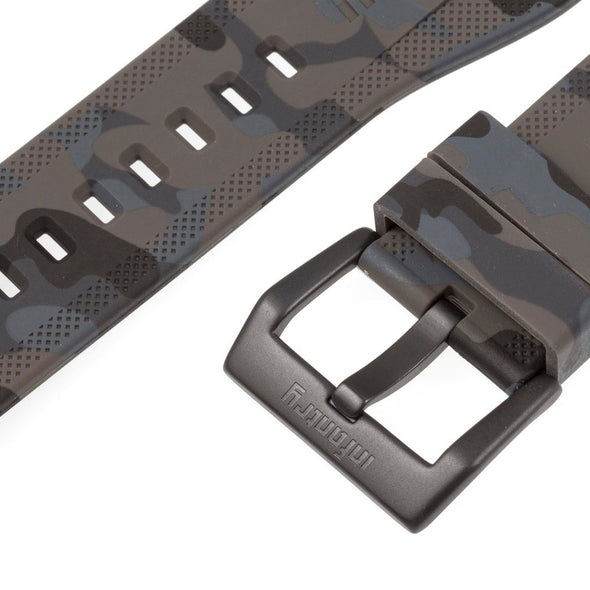 INFANTRY REVOLUTION CAMO GREY 24MM SILICONE STRAP  (WS-R-CAMOGRY-SET)