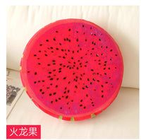 Fruity Decorative Seat Cushion with Foam Filling