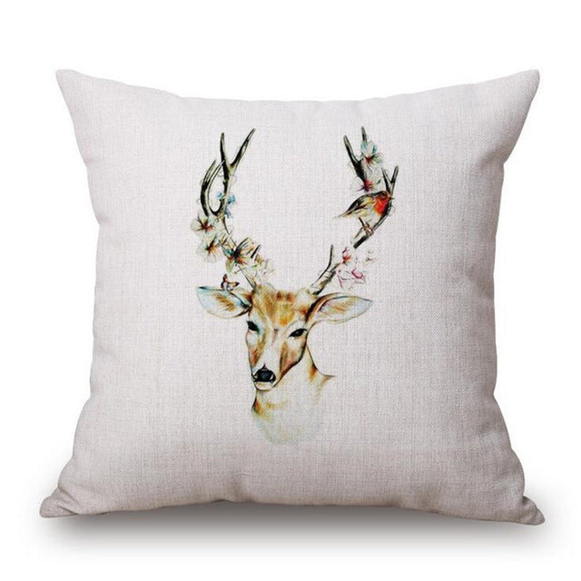 Bambi Contemporary Handmade Pillow Case