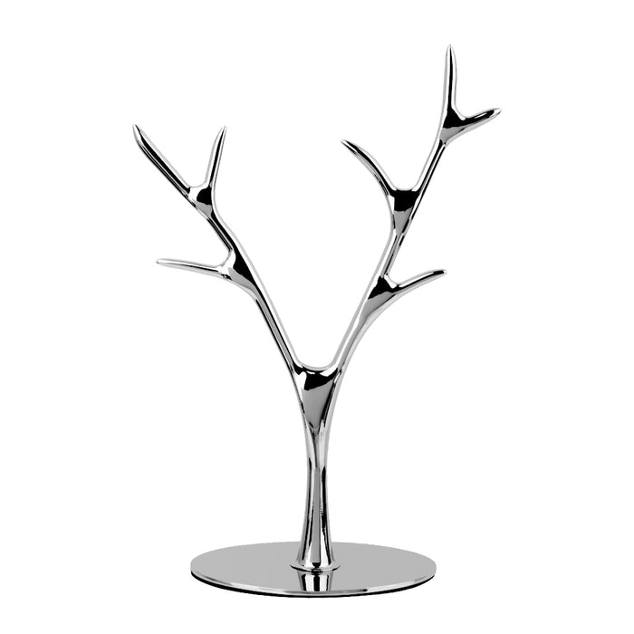Tree Branch Metal Ring Holder