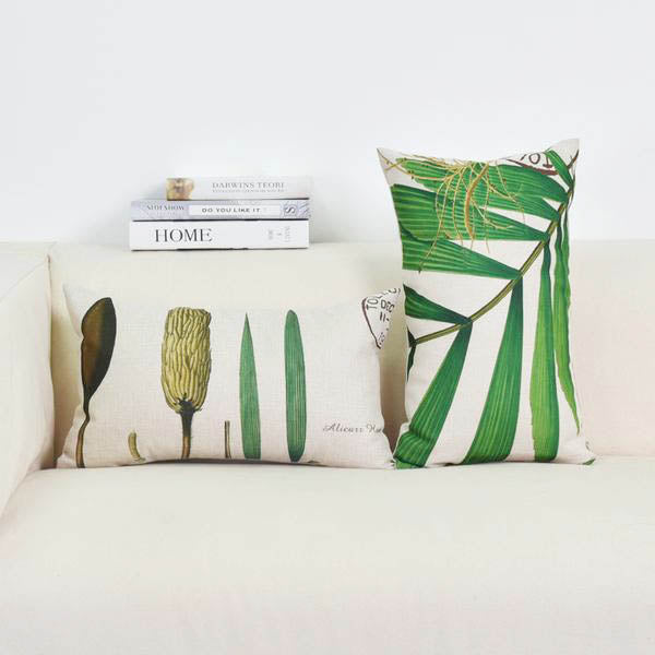 Ashley Greenery Cushion Case