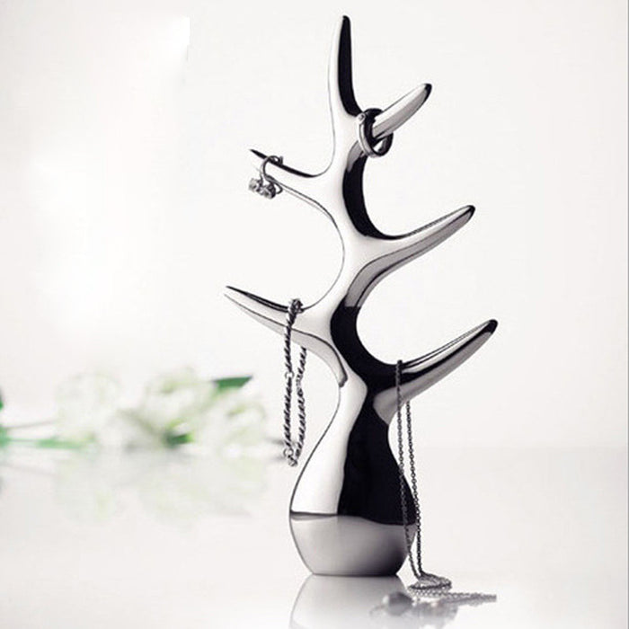 Elegant Tall Tree Ring Holder