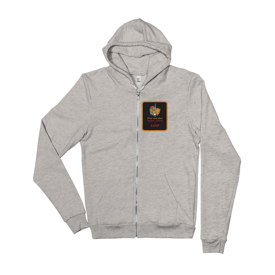 Tri-Blend Hoodie (Put on the WHOLE Armor of GOD)