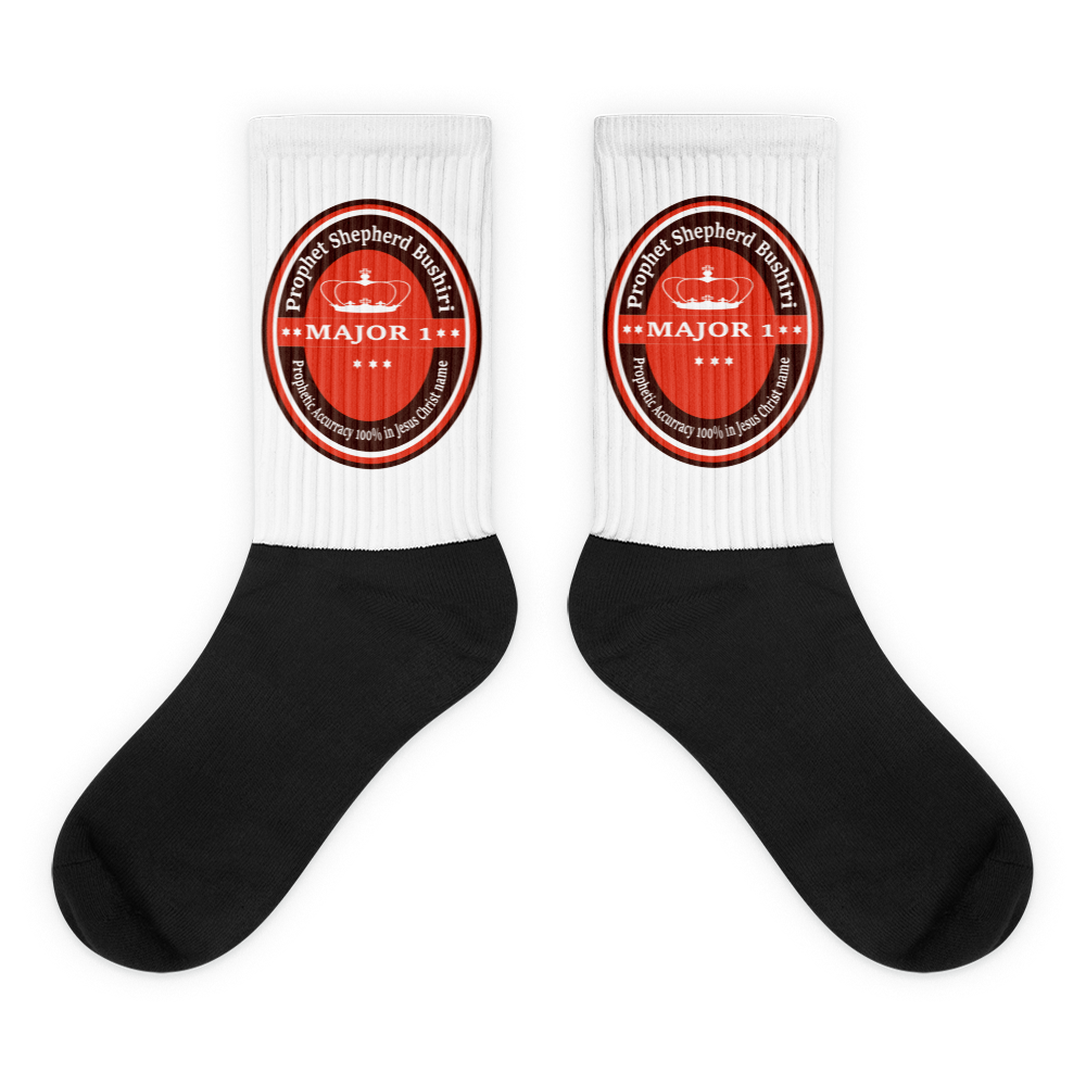 Black foot socks (Major 1 - Power)