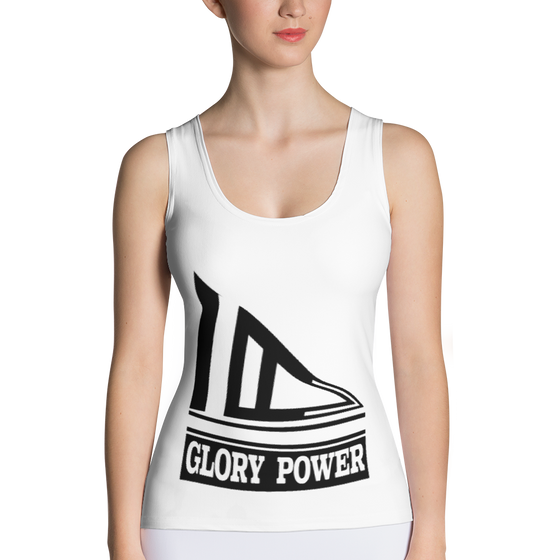 Sublimation Cut & Sew Tank Top - GLORY POWER