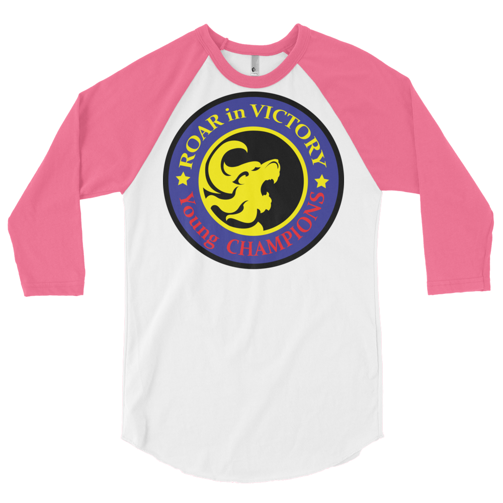 3/4 sleeve raglan shirt - Victory Established in CHRIST