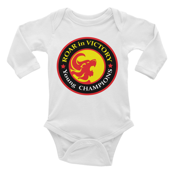 Infant long sleeve one-piece - Born for SUCCESS in Jesus name