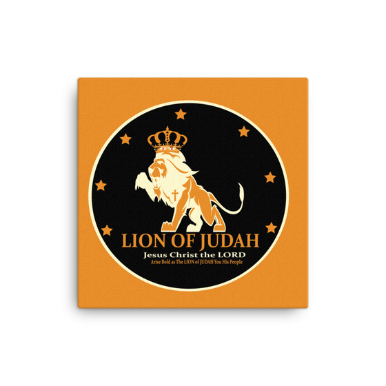 Canvas - Arise BOLD as the LION of JUDAH
