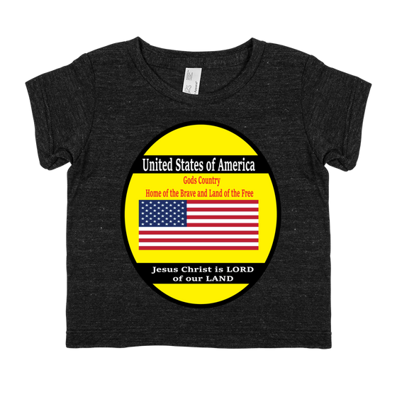 Infant Tri-Blend Short-Sleeve Tee (Child of The KING - Decreed & Declared Favor in Jesus name)