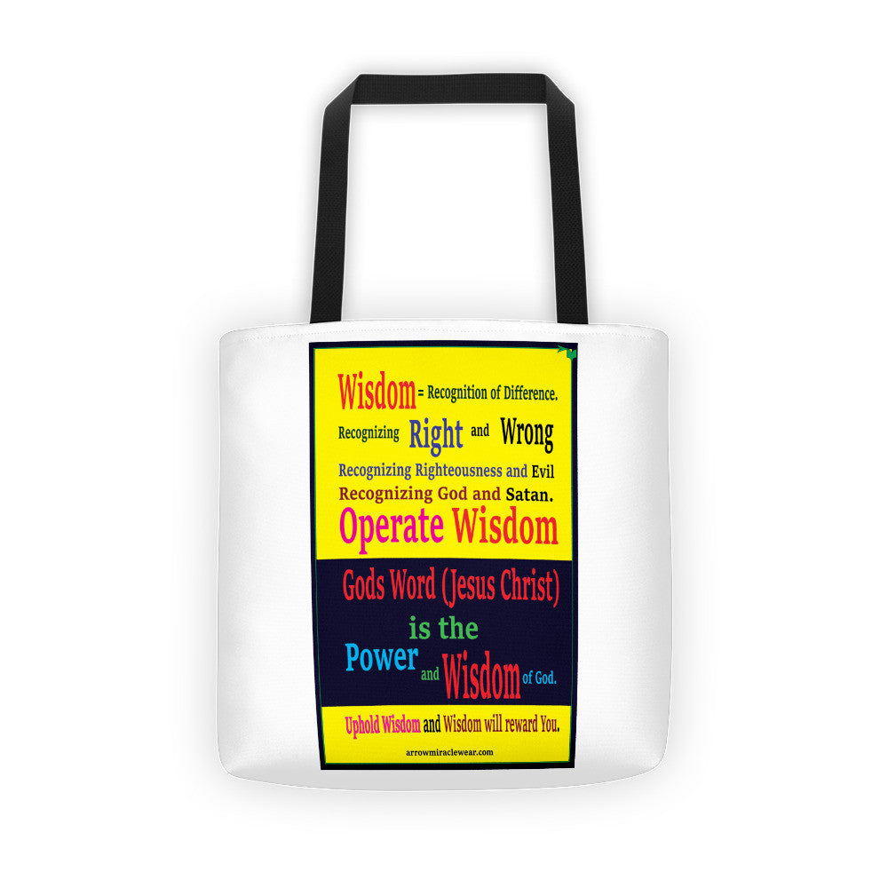 Tote bag (Wisdom - Recognizing the Difference)