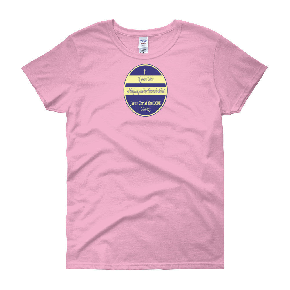 Women's short sleeve t-shirt - $20