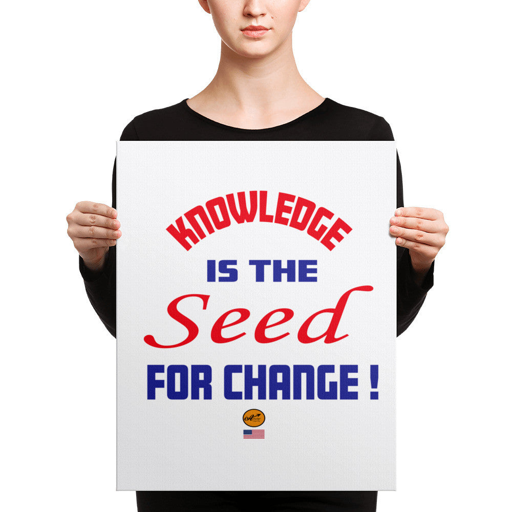 Canvas - Knowledge is the Seed for Change !