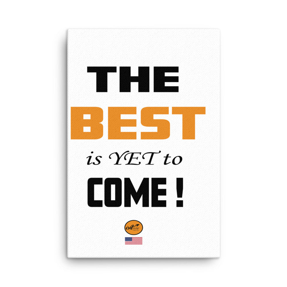 Canvas - The BEST is Yet to Come !