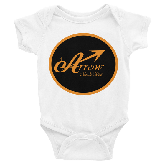 Infant short sleeve one-piece - Anointed Christian BRAND