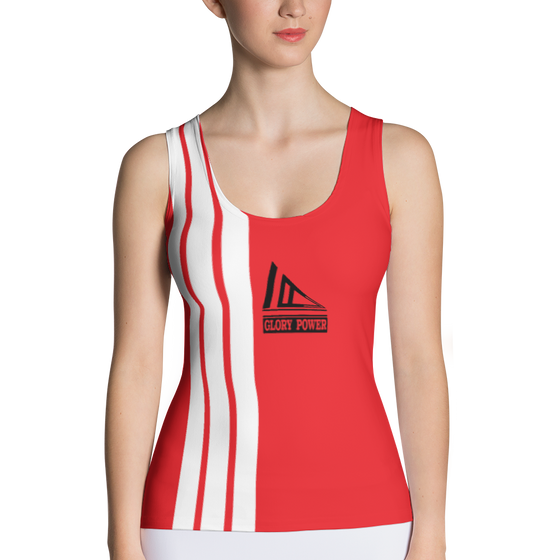 Sublimation Cut & Sew Tank Top - $31