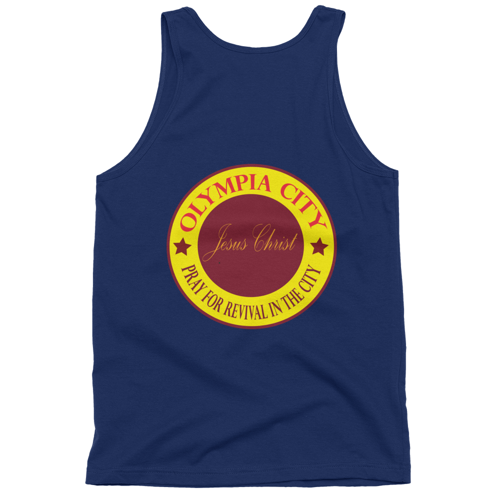 Classic tank top (unisex)  - Pray for the City