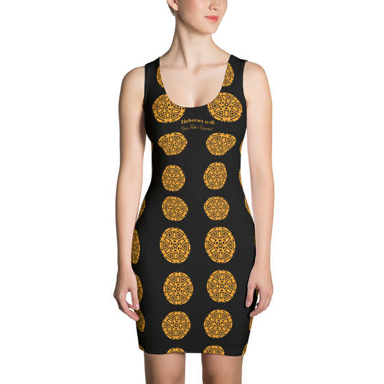 Sublimation Cut & Sew Dress - Your Faith in GOD is Essential Each Day