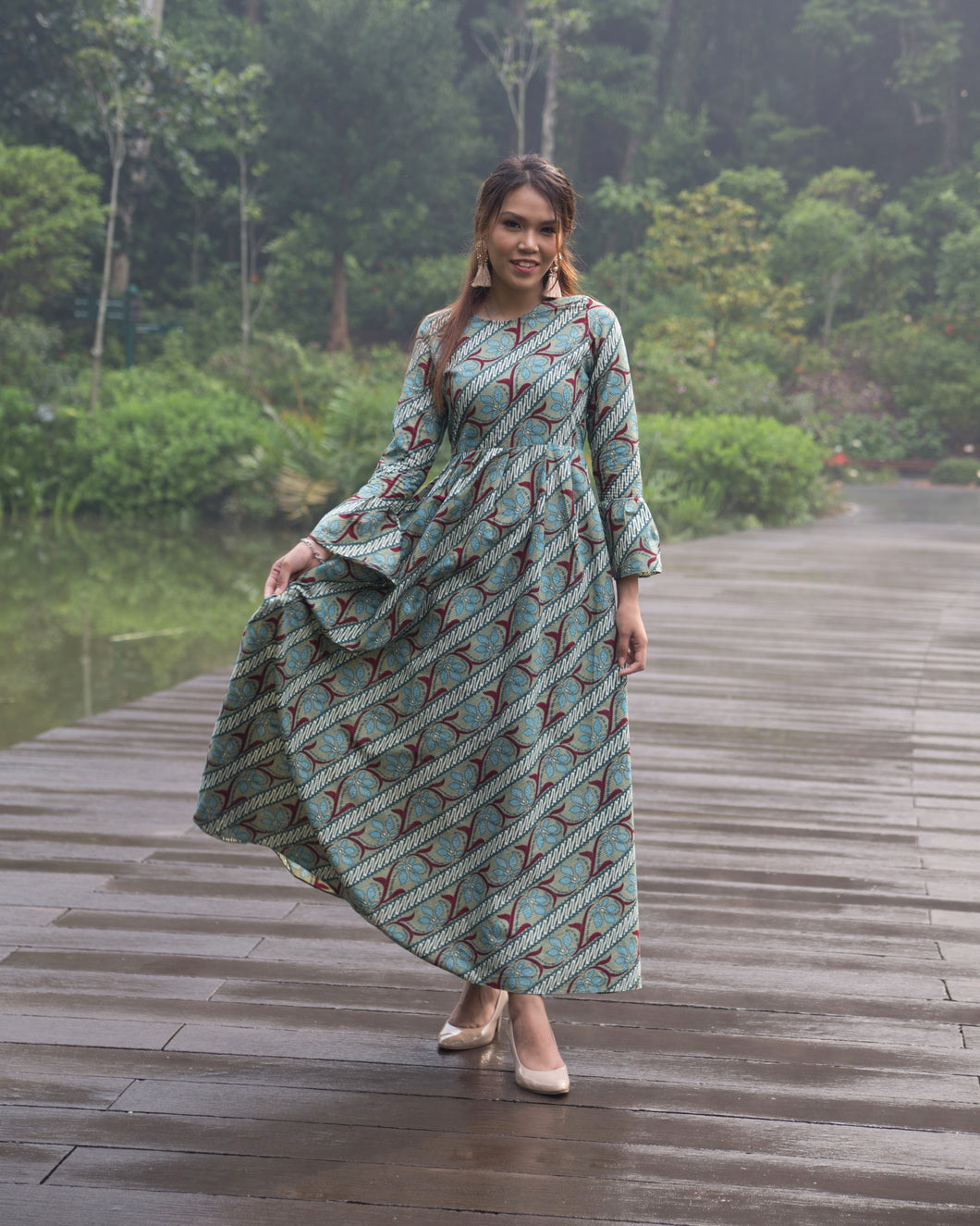 NANDANA IJEM LONG DRESS