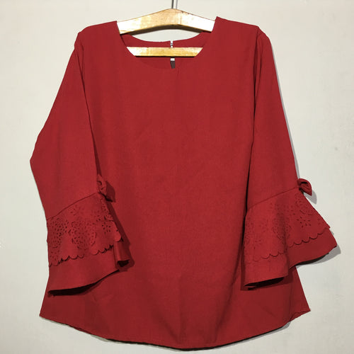 DAISY BLOUSE RED