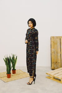 DAMAR SETA LONG DRESS