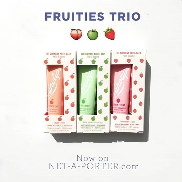 101 FRUITIES x three