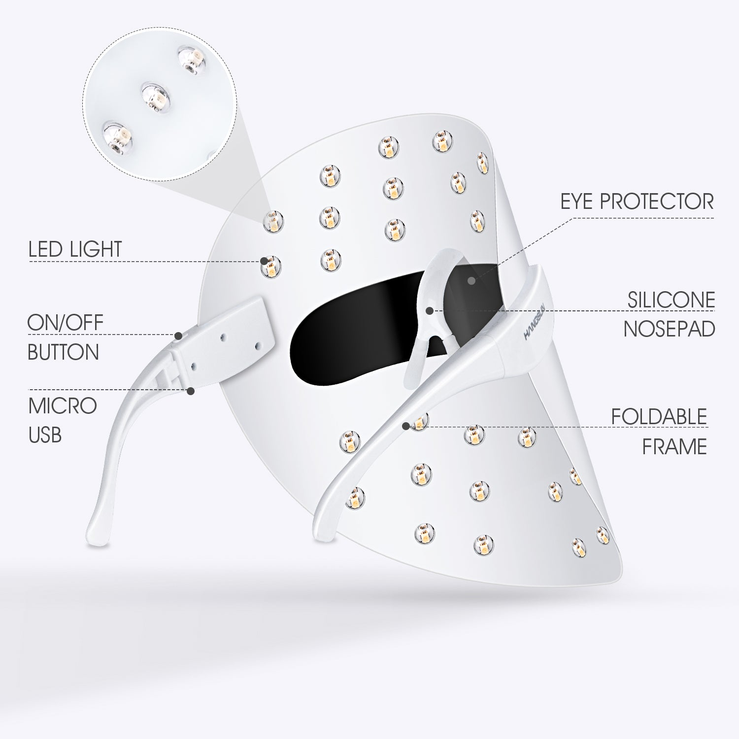 Light Therapy Treatment LED Mask FT330
