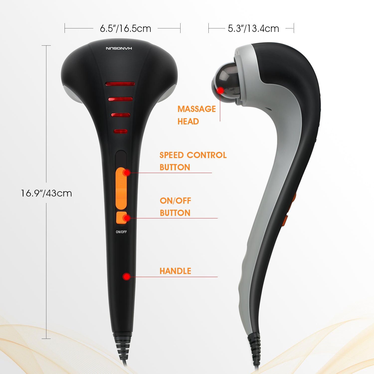 Handheld Electric Massager MG400