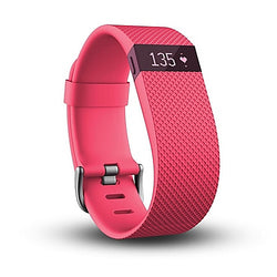Fitbit Charge HR - Activity Tracker with Heart Rate Monitor - Large - Pink