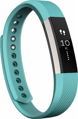 Fitbit Alta - Activity Tracker - Large - Teal/Silver