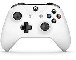 Microsoft Bluetooth Controller for Xbox One/Xbox One S and PC - White