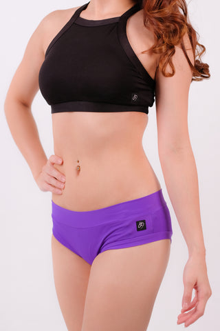 Purple Basic Shorts