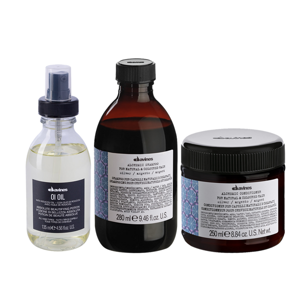 Davines natural hair care Set