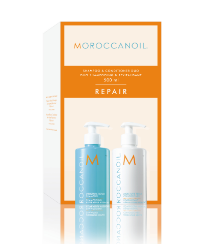 Moroccanoil Moisture REPAIR Shampoo & Conditioner Promotion Kit